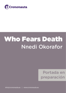 Book Cover: Who fears death